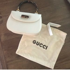 GUCCI BAMBOO top handle - vintage - iconic - rare